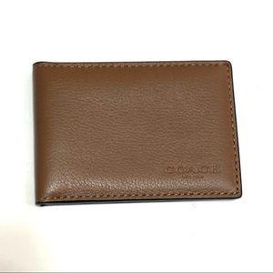 COACH Slim Bifold ID wallet